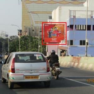 Adinn-outdoor-billboard-Usman Road Bridge towards Kodambakkam, Chennai