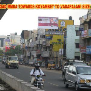 Adinn-outdoor-billboard-100 Ft towards koyambedu to vadapalani -2, Chennai
